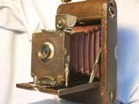 '       NO.3 Model A Folding Pocket Kodak ' Kodak No.3 Pocket Kodak Camera RED Bellows £99.99
